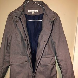 Kenneth Cole long jacket size small